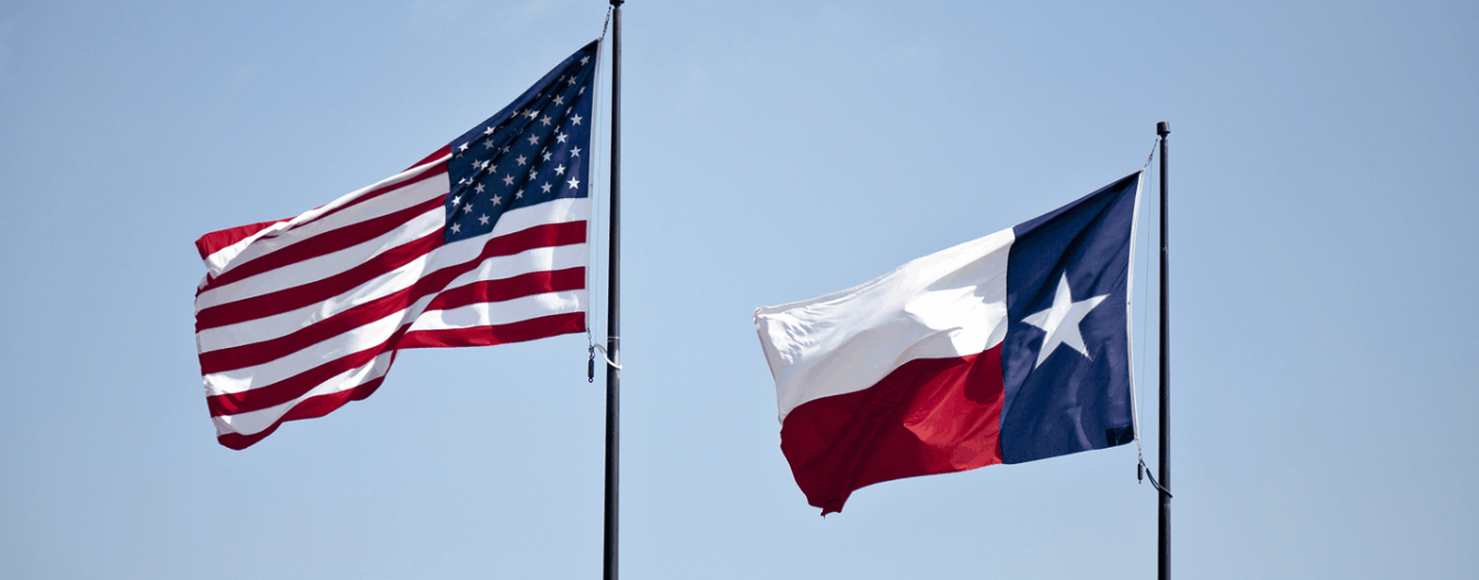 united-states-texas-flags